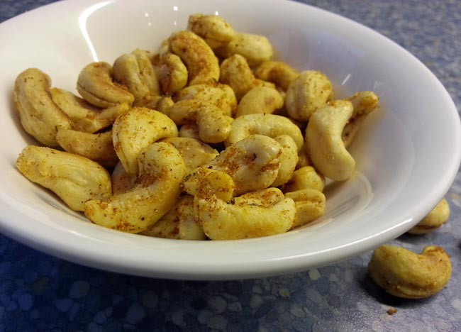 cajun cashews paleo recept