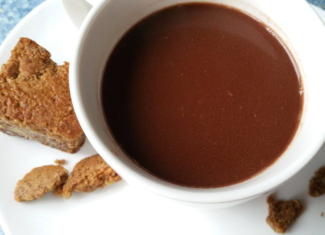 paleo warme chocomelk